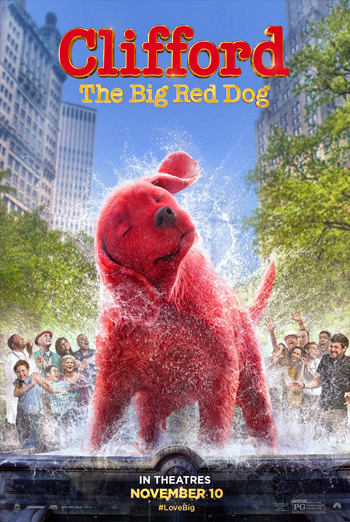 Clifford: The Big Red Dog movie poster